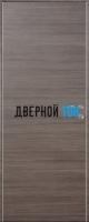 Гладкая дверь Капель с поперечным экошпоном серия ECO (телескопическая коробка)