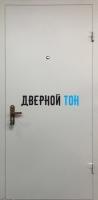 Входная металлическая техническая дверь RAL 7035