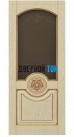 Филенчатая шпонированная дверь QP-2 ДО