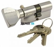 Цилиндр сечение 35х35 ключ/поворотник