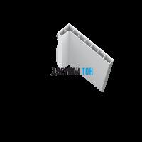 Наличник белый пластиковый телескопический 2600х70х10 Aquadoor
