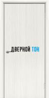 Пластиковая гладкая дверь Aquadoor белый кедр