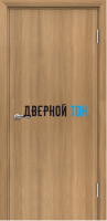 Пластиковая гладкая дверь Aquadoor песочный дуб