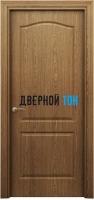 Филенчатая дверь Палитра классик ДГ темный дуб