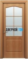 Филенчатая дверь Палитра классик ДО миланский орех