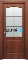Филенчатая дверь Палитра классик ДО итальянский орех