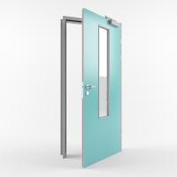 Комбинированная противопожарная дверь с пределом огнестойкости EI30 (Тип PP30) одностворчатая остекленная