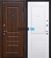 Входная металлическая дверь МЕТАЛЮР М9 (МДФ-МДФ)