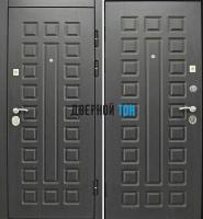 Входная металлическая дверь СЕНАТОР (МДФ-МДФ) венге