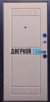 Входная металлическая дверь ТРОЯ (металл-МДФ) Беленый дуб
