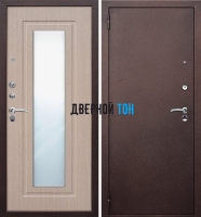 Входная металлическая дверь ЦАРСКОЕ ЗЕРКАЛО (металл-МДФ)