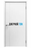 Пластиковая гладкая белая дверь Aquadoor 1100 мм с молдингом