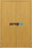 Гладкая ламинированная финская дверь с четвертью полуторная