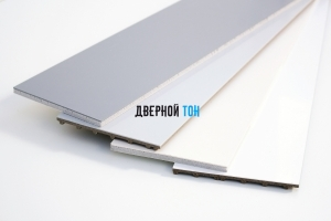 Добор прямой пластиковый вспененный ПВХ моноколор 150 мм