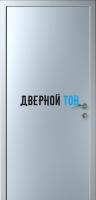 Гладкая дверь Капель титан (телескопическая коробка)