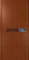Гладкая дверь Капель итальянский орех (телескопическая коробка)