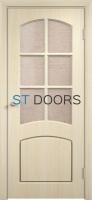 Филенчатая ламинированная дверь Кэрол ДО Беленый дуб