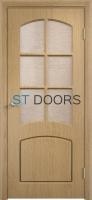 Филенчатая ламинированная дверь Кэрол ДО Дуб