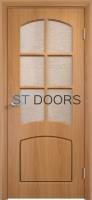 Филенчатая ламинированная дверь Кэрол ДО Миланский орех