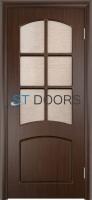 Филенчатая ламинированная дверь Кэрол ДО Венге