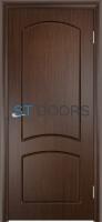 Филенчатая ламинированная дверь Кэрол ДГ Венге