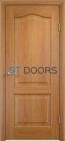 Филенчатая ламинированная дверь Классика ДГ Миланский орех