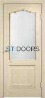 Филенчатая ламинированная дверь Классика ДО Беленый дуб