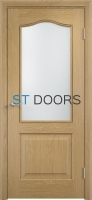 Филенчатая ламинированная дверь Классика ДО Дуб