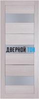 Царговая межкомнатная дверь мод. 12 лиственница кремовая