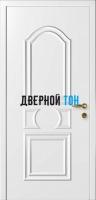 Филенчатая белая дверь Капель Нарцисс  (телескопическая коробка)