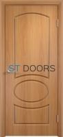 Филенчатая ламинированная дверь Неаполь ДГ Миланский орех
