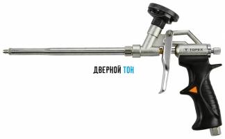 Пистолет для монтажной пены профессиональный TOPEX