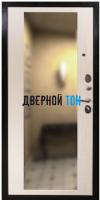 Входная металлическая дверь СЕНАТОР 2К ЗЕРКАЛО (МДФ-МДФ)