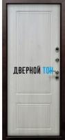 Уличная входная металлическая дверь СИБИРЬ-ТЕРМО (металл-МДФ)