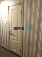 Филенчатая ламинированная дверь Классика ДГ Беленый дуб