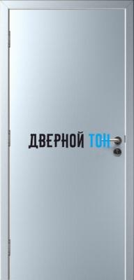 Гладкая пластиковая титан противопожарная дверь Ei30