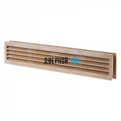 Дверная вентиляционная решетка светлый дуб 430 мм