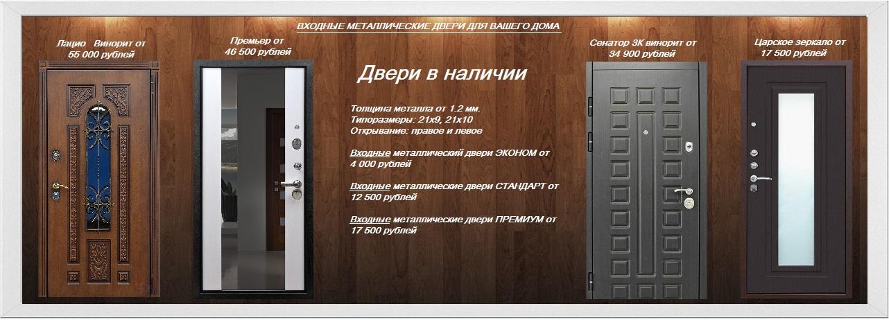 входные металлические строительные двери